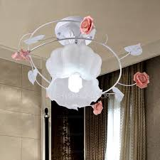 patterned shabby chic style flush mount ceiling lights
