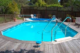 wooden pool deck kits fascinating and simple above ground pool