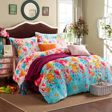 Girls Bed In A Bag by Aliexpress Com Buy Floral Comforters And Quilts Girls Comforter