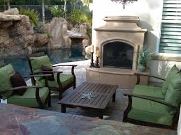 Outdoor Chimney Fireplace by Outdoor Fire Pits Outdoor Fireplaces And Fire Features