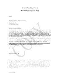 Confirmation Of Appointment Letter Sample County Extension Agent Cover Letter