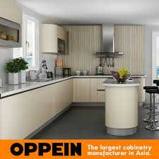 kitchen cabinets light wood color item oppein contemporary light color acrylic wood kitchen cabinet op15 a03