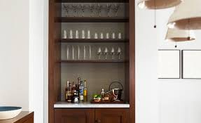 bar add a small bar setting to the formal dining room corner