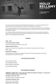 Ballet Resume Sample by Project Assistant Resume Samples Visualcv Resume Samples Database