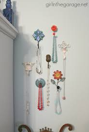 Decorative Picture Hangers Decorative Wall Hooks As Jewelry Storage In The Garage