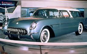 chevy corvette wagon 1954 corvette nomad concept which was originally built around a