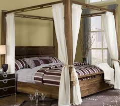 King Size Canopy Bed Frame King Size Canopy Bed With Storage Home Design Ideas
