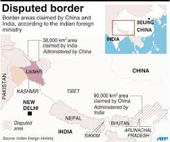 India Regions Map by India China Hold Joint Army Drills In Ladakh To Boost Ties Asia