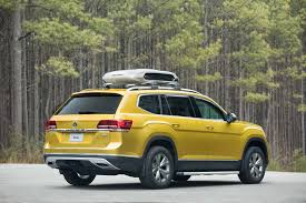 volkswagen atlas black wheels volkswagen atlas weekend edition concept is road trip ready