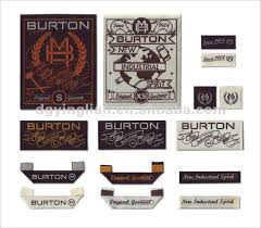 design label woven fashion design garment woven label clothing label label and