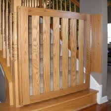 Baby Gate For Stairs With Banister 20 Ways To Wooden Baby Gates For Stairs