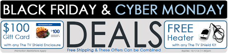 black friday small business saturday cyber monday black friday and cyber monday outdoor tv deals the tv shield