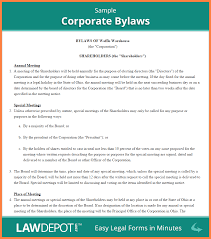 4 c corporation operating agreement template purchase agreement