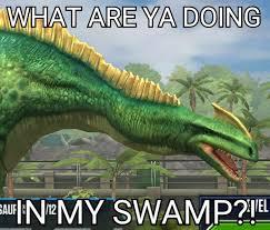 Shrek Meme - meme 11 jurassic shrek by dinobrian47 on deviantart