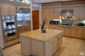 kitchen kitchen colors with light wood cabinets table accents