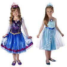 Anna Frozen Costume Frozen Anna And Elsa Dresses Just 19 99 Shipped