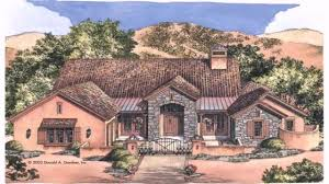 mexican style house plans plans for a house