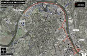 Map Of Nashville Running Tour Of Nashville Qwickness