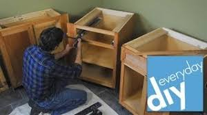 cost to install base cabinets how to install kitchen cabinets buildipedia diy