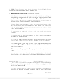 Free Lease Agreement Best Photos Of Printable Standard Lease Agreement Free Printable