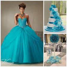 Centerpieces For Quinceaneras Quince Theme Decorations Blue Centerpieces Blue Cakes And Dress