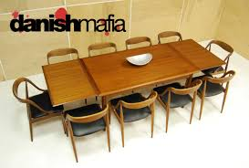teak dining room furniture mid century danish modern arne vodder teak dining table danish mafia