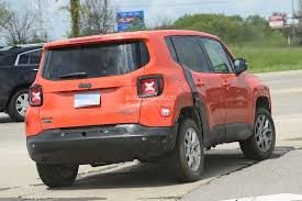 white jeep patriot 2017 2017 jeep c suv prototype spied wearing renegade body shell