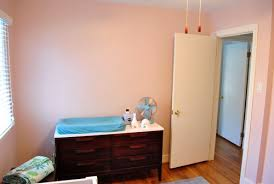 the perfect soft pink paint color for nursery walls young house love