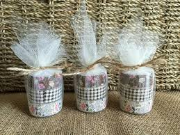 candle favors ustic wedding tea light candle favors 2251240 weddbook