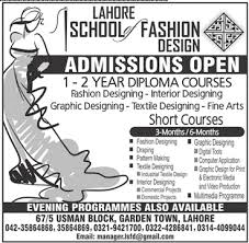 Interior Designing Courses In Usa by Of Fashion Design Short Courses Admission 2017