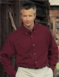 amazon com men u0027s down collar long sleeve dress shirt maroon