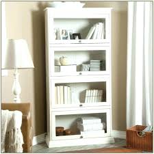 white bookcase with doors designs useful for library prepare 28