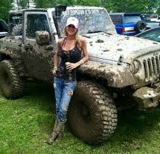 muddy jeep girls girls and jeeps