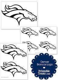 printable denver broncos logo template from printabletreats com