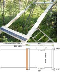 assembling your homemade deer hunting box stand plans building