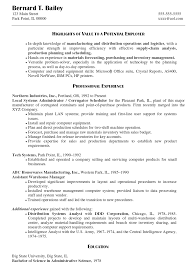 Cover Letter For Network Administrator Job by Information Systems Administrator Sample Resume Receipt Template