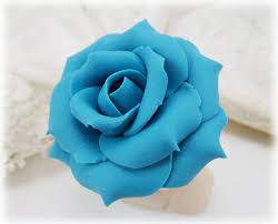 turquoise roses large turquoise ring