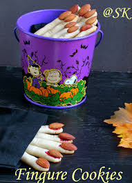 savitha u0027s kitchen eggless spooky witch u0027s fingure cookies