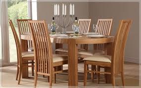 Oak Dining Room Set Mission Oak Dining Room Chairs Set Of 6 New Mission Oak Dining