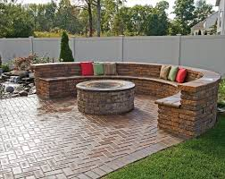Patio Table With Firepit by Brick Patio Furniture Download Brick Patio Designs With Fire Pit