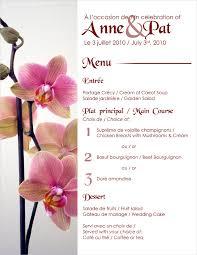 Template For Wedding Program 23 Wedding Menu Templates U2013 Free Sample Example Format Download
