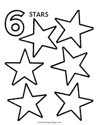 coloring pages com free preschool number worksheets