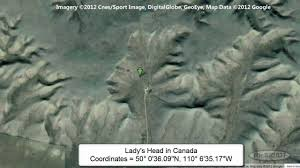 Google Map Canada by Google Map Secret Coordinates Unusual And Secret Images As Seen