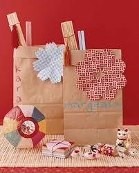 Birthday Favor Bags by Handmade Favors Martha Stewart