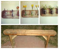 used ca used furniture diy benches used ca