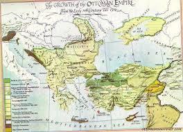 Map Of Ottoman Empire 1500 The Maps Of Ottoman Empire