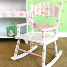 Nursery Wooden Rocking Chair Children S Rocking Chair Rocking Chair Kid S By Thedecorativebrush