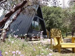 black a frame cabin close to yosemite vrbo