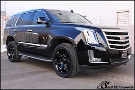 cadillac escalade with black rims las vegas powder coating for wheels automotive residential