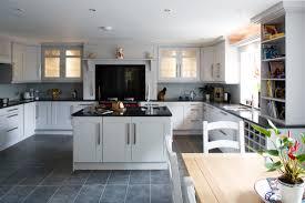 Pictures Of Kitchens With White Cabinets And Black Appliances by Creamy White Kitchen Cabinets With Black Appliances Are White
